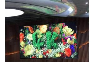 瑞莱克斯大酒店室内全彩LED显示屏