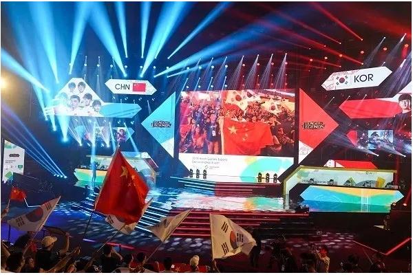 电竞爆发再次带动舞台LED显示屏产业